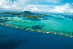 Bora Bora_Vista Aerea sui Motu