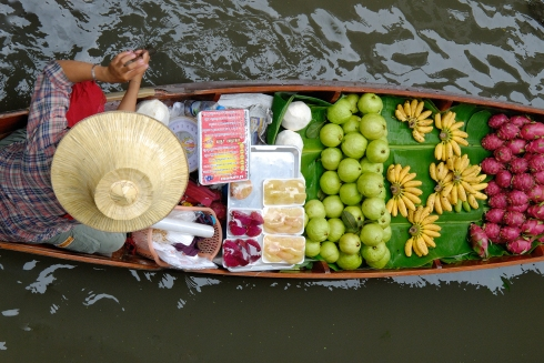 Bangkok _Mercato Galleggiante