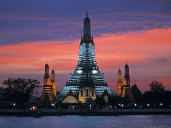 Bangkok - temple of the dawn