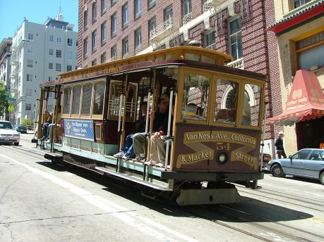 Cable Car - San Francisco -