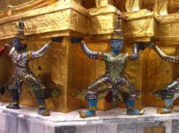 Palazzo Reale di Bangkok - Demoni-Custodi yaksha
