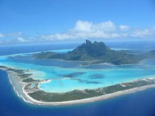 Bora Bora - Vista aerea