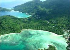 Mahé - Aerial View
