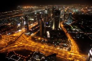 Dubai_Veduta notturna