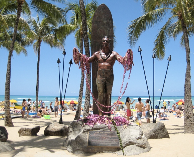 The Duke Kahanamoku - Waikiki Beach