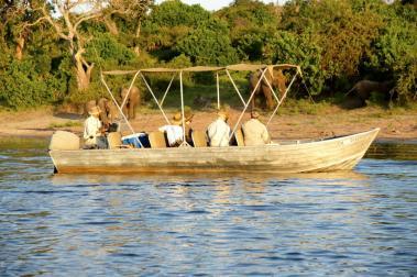 Chobe N. P. - Boat Safari - Botswana