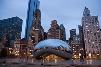 Chicago - The Bean @ Millennium Park