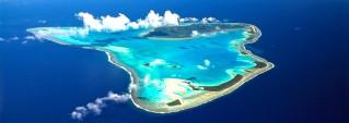 Aitutaki - Aerial View