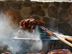 Pitchfork Steak Fondue