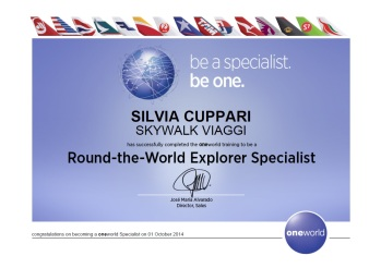 RTW Certificate