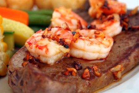 steak-shrimp