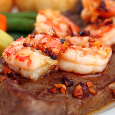 steak-shrimp