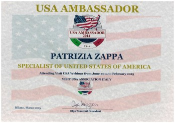 Usa Ambassador Patrizia