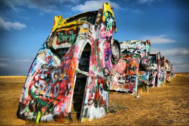 Route 66 - Cadillac Ranch - Amarillo Texas