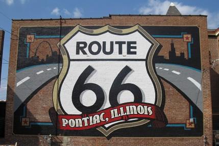 Route 66 - Murales a Pontiac IL