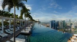 Piscina del Marina Bay Sands - Singapore