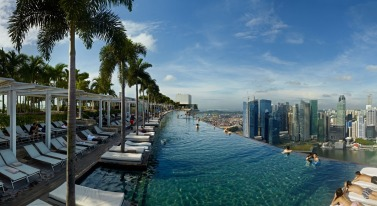 Piscina del Marina Bay Sands - Singapore