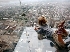 Sky deck - Willis Tower - Chicago