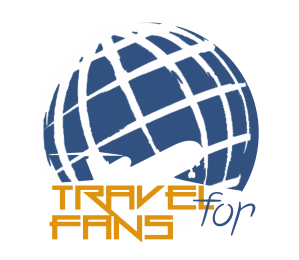 Logo Travel For Fans