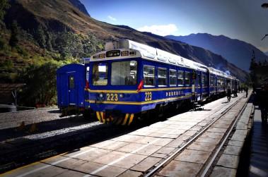 Treno Aguas Calientes - Perù