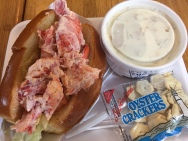 Loster Roll & Clam Chowda