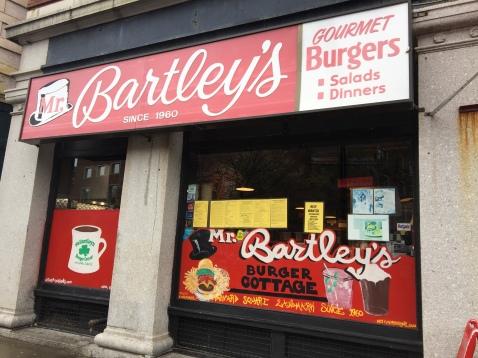 Mr. Bartley's - Cambridge - Boston