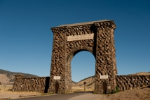 Roosevelt Arch - Gardiner MT