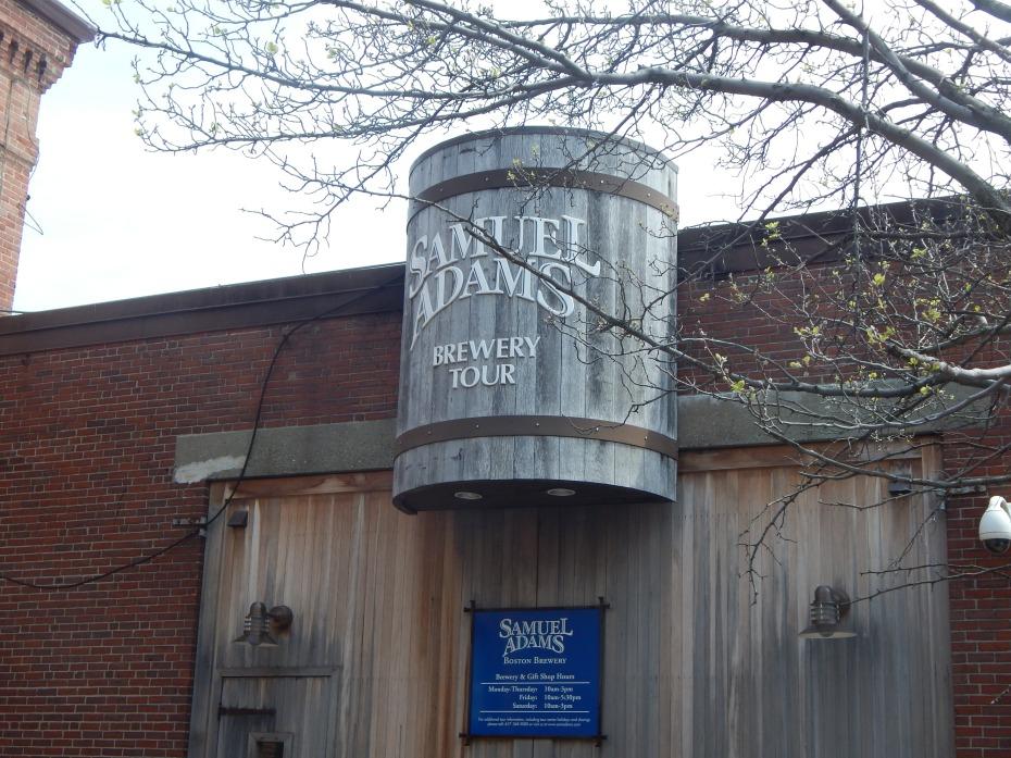 Samuel Adams Brewing Factory