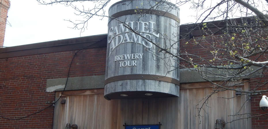 Samuel Adams Brewing Factory