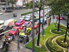 Traffico a Bangkok
