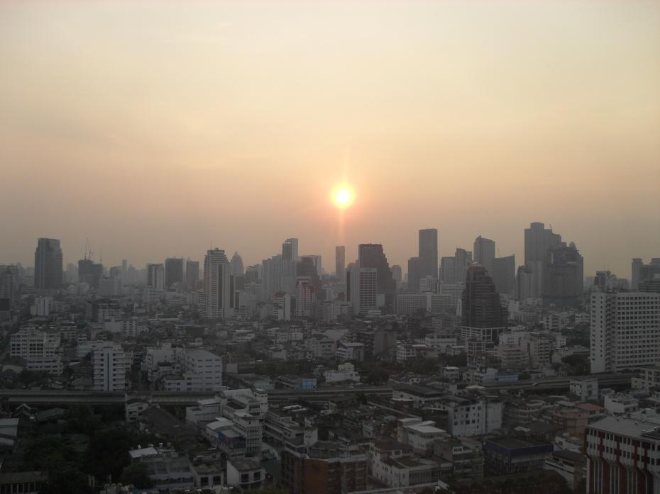 Bangkok all'alba