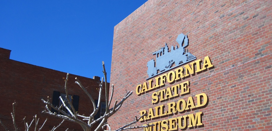 California State Railroad Museum Sacramento - Photo credit: happy via