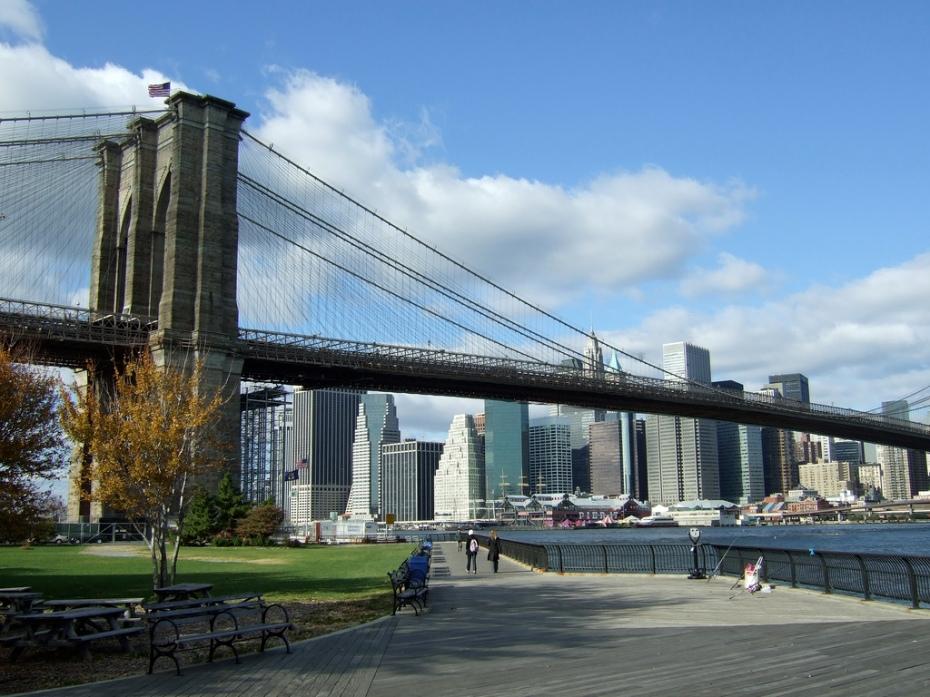 Brooklyn Bridge Park - Photo credit: rudynorff