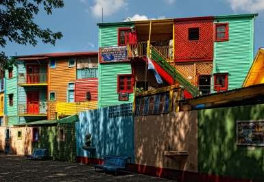 La Boca - Buenos Aires - Photo credit: Stuck in Customs