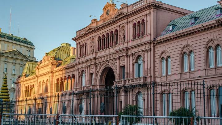 Casa Rosada - Plaza de Majo - Buenos Aires