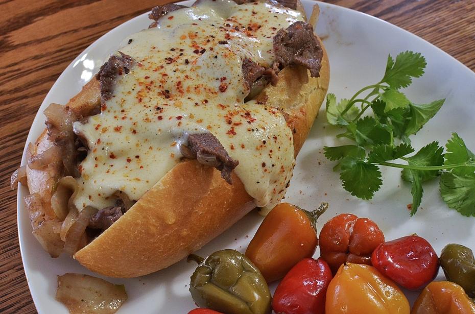 Cheese Steak Sandwich- Philadelphia