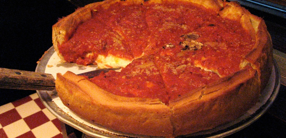 Deep Dish Pizza - Chicago