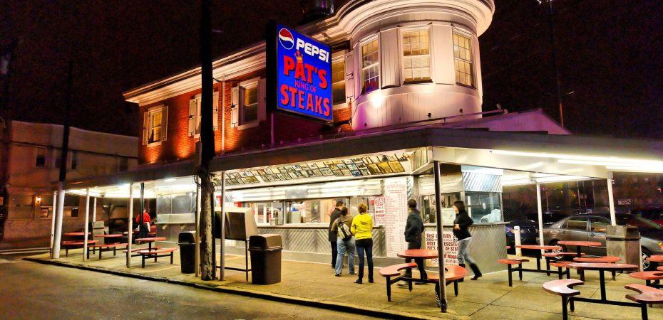 Pat's King of Steaks - Philadelphia