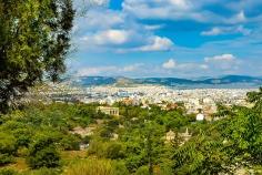 Atene Grecia - vista della città