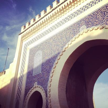 Fes - Ingresso Medina - Marocco Photo credit: henskechristine