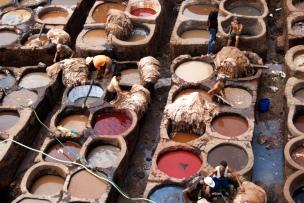 Tintori a Fes - Marocco Photo credit: Lena_Ni