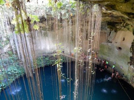 Messico - Cenote Ik Kil
