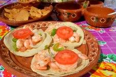 Tacos di Gamberi