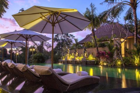 Ubud - Udaya Resort - Pool