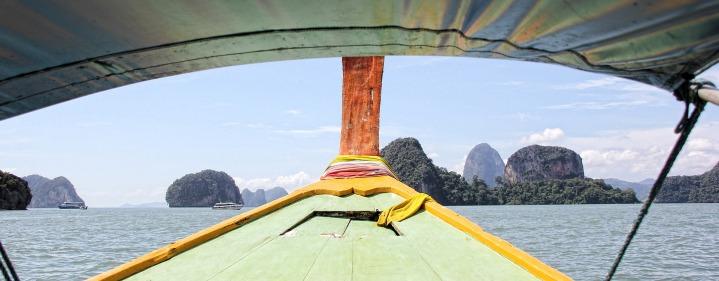 thailand - Krabi dalla barca