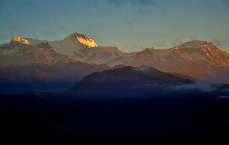 Annapurna Himalayan Range.