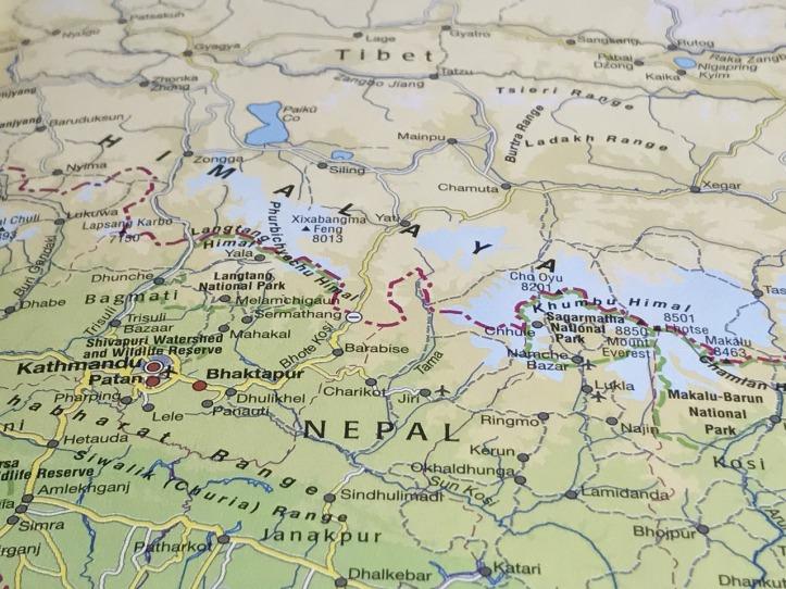 Nepal Mappa