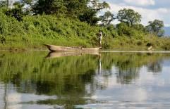Parco Nazionale Chitwan - Imbarcazione tipica