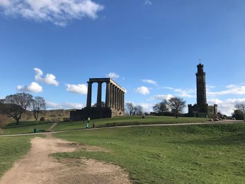 Nelson Monument - National Monument - Calton Hill - Edimburgo