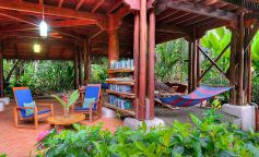 Corcovado National Park - rainforest-lodge -library